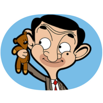 Mr Bean Sticker Packs