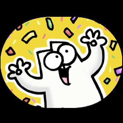 Simons Cat Animated Sticker Pack