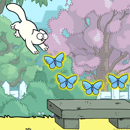 Simon's Cat Dash Garden