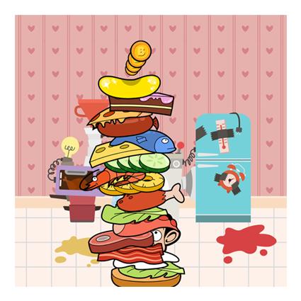 Mr Bean Sandwich Stack - Large Stack