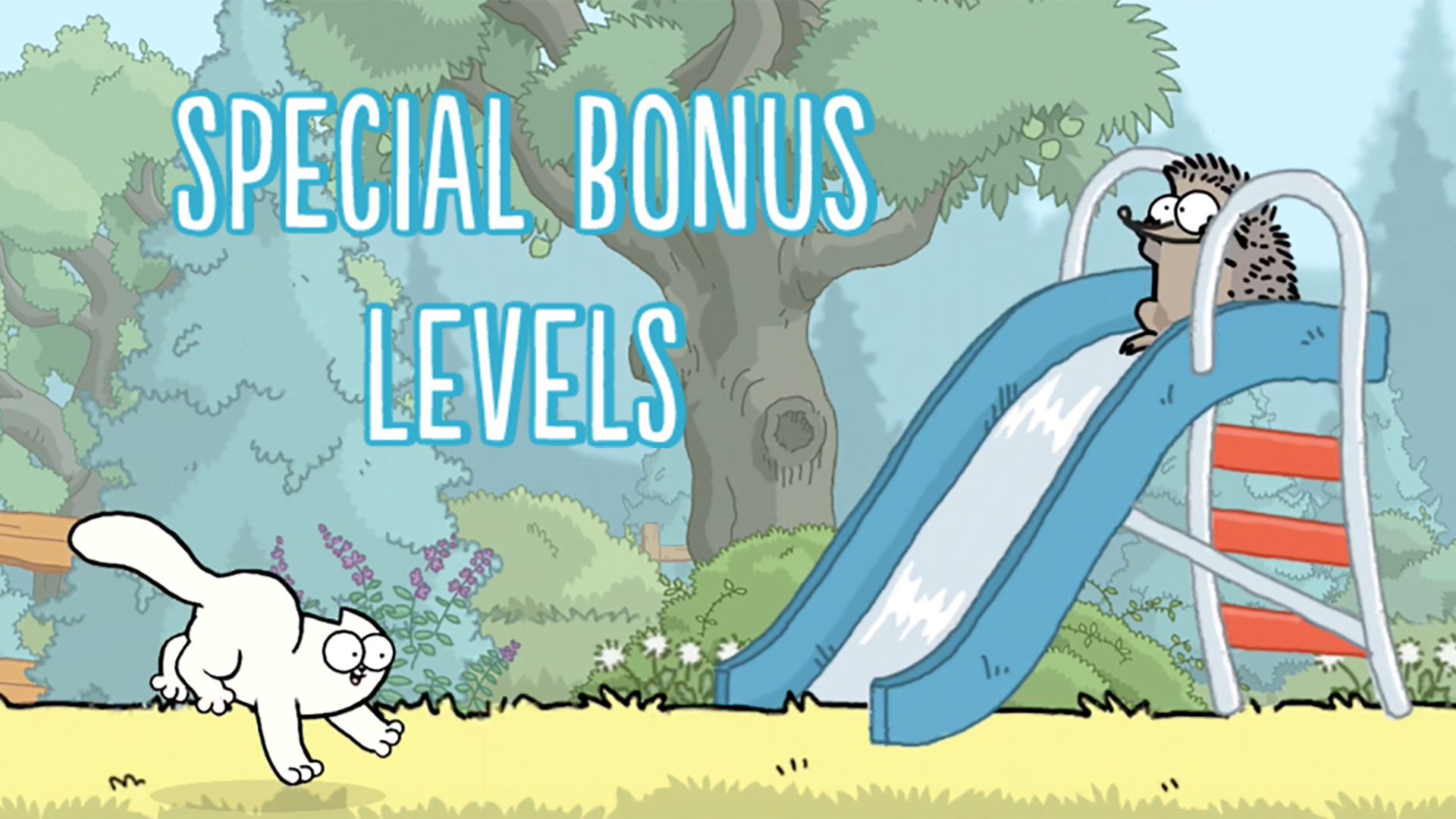 Simon's Cat Bonus Level - Simon's Cat Game - hedgehogs