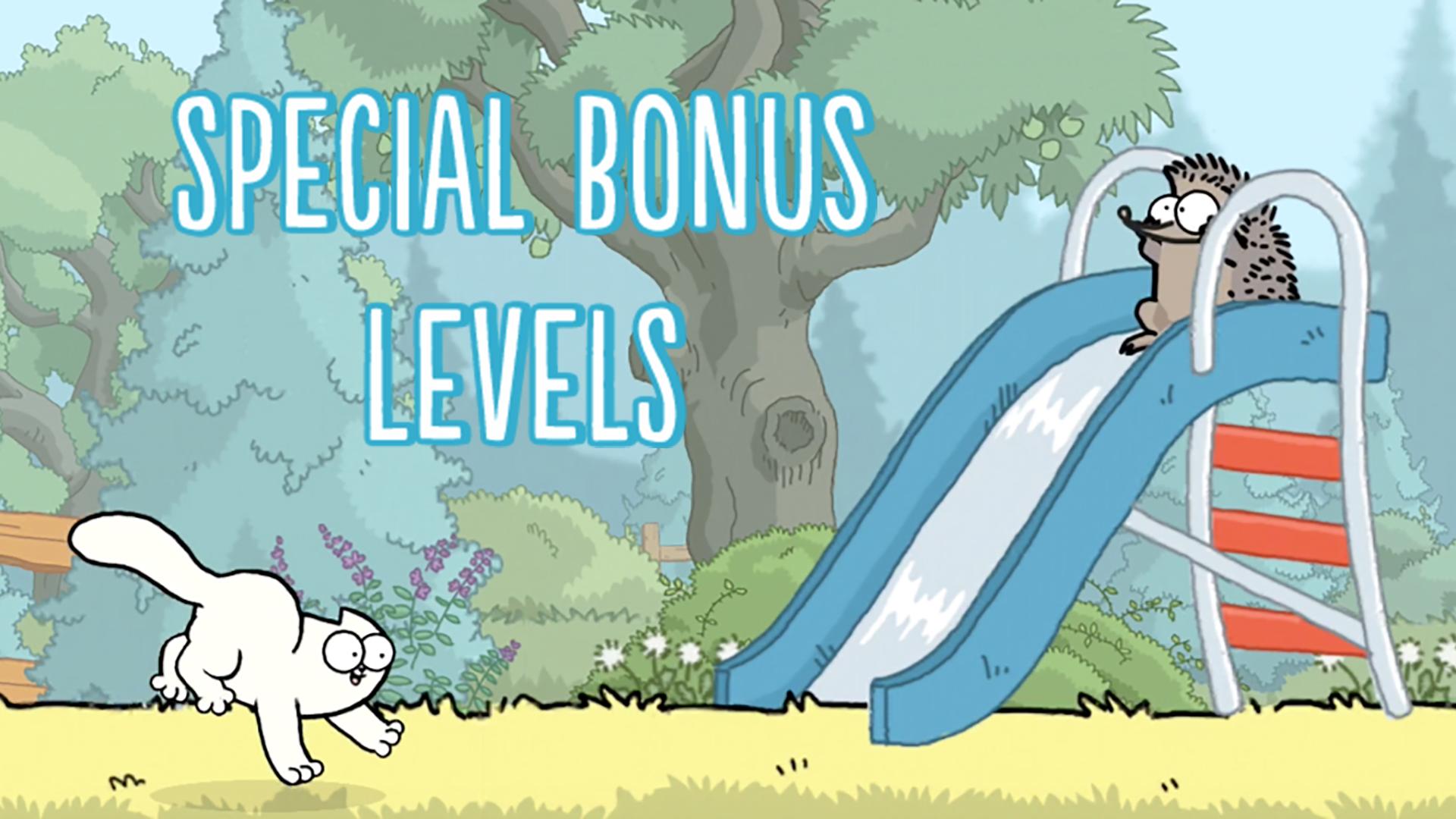 Simon's Cat Bonus Level - Simon's Cat Game - hedgehogs