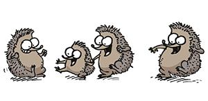 Simon's Cat Game Bonus Level - Hedgehogs