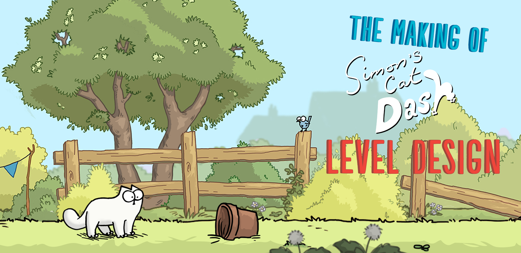Simon's Cat Game Level Design