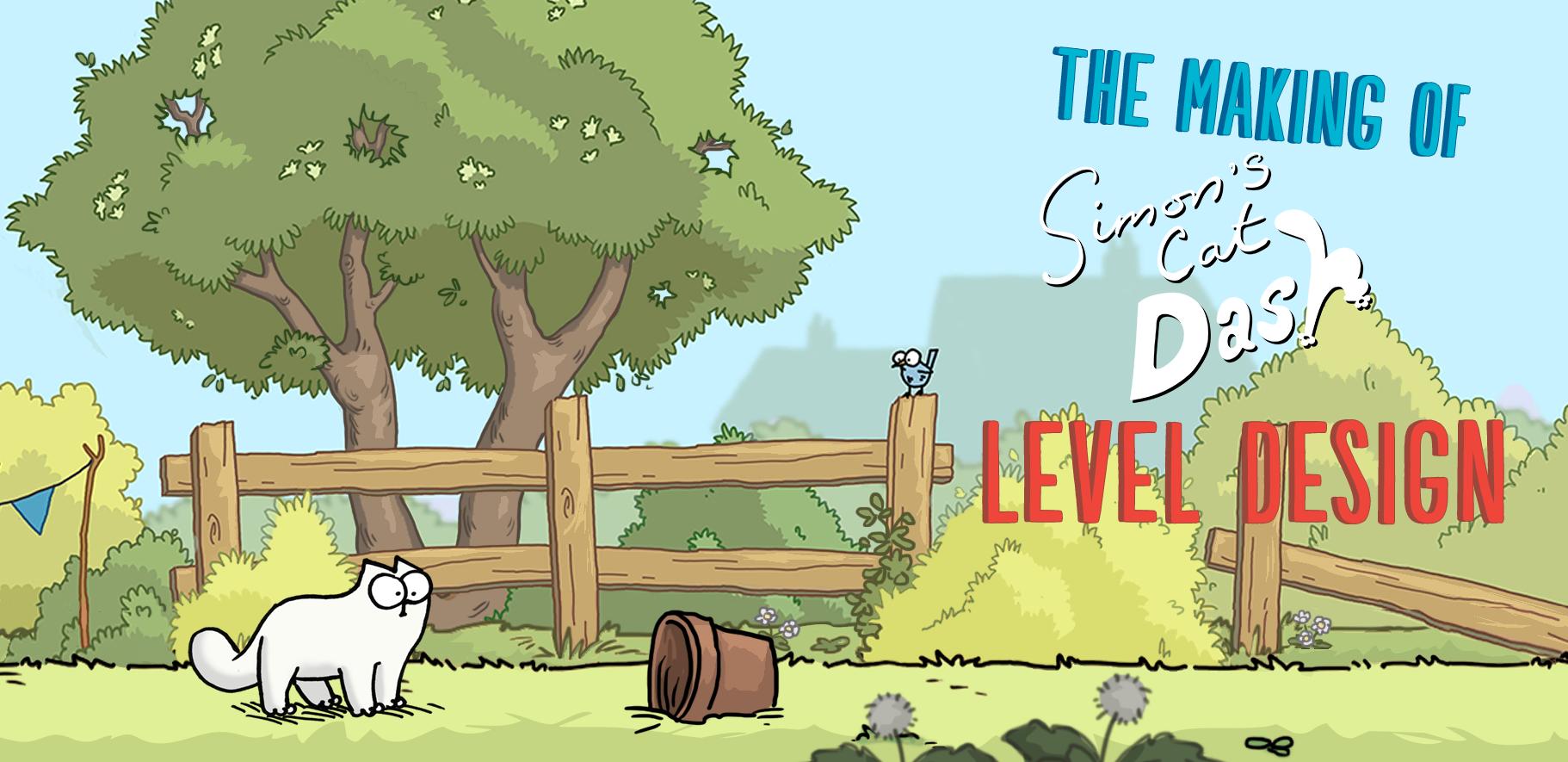 Simon's Cat Game Level Design