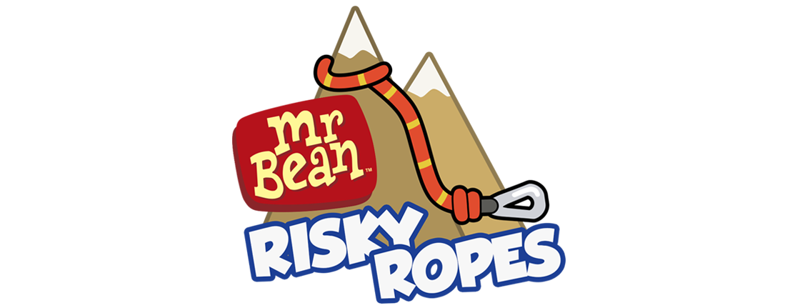 Mr Bean Risky Ropes Logo