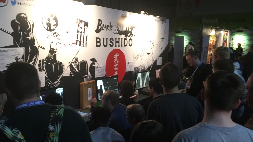 Black and white bushido convention