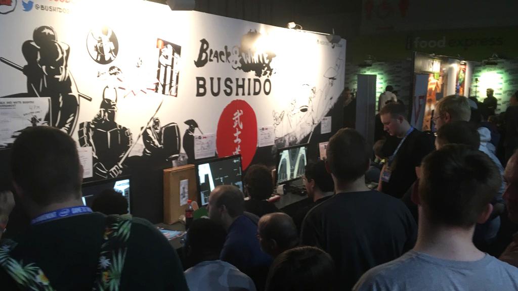 Black and white bushido convention
