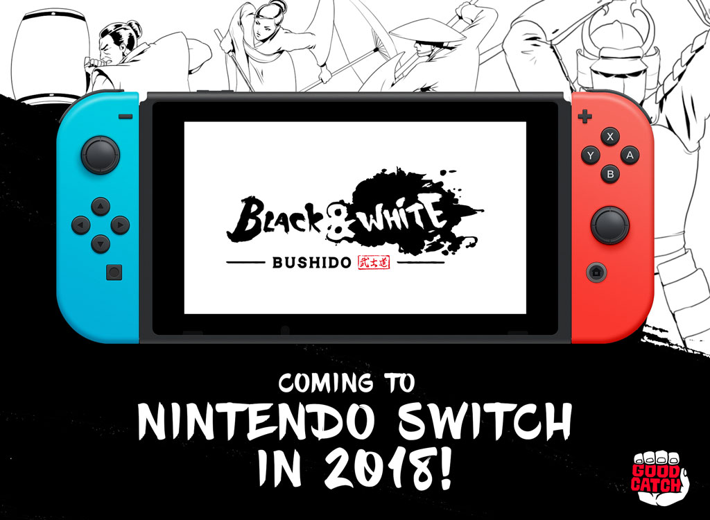 Black and white bushido Switch postmortem