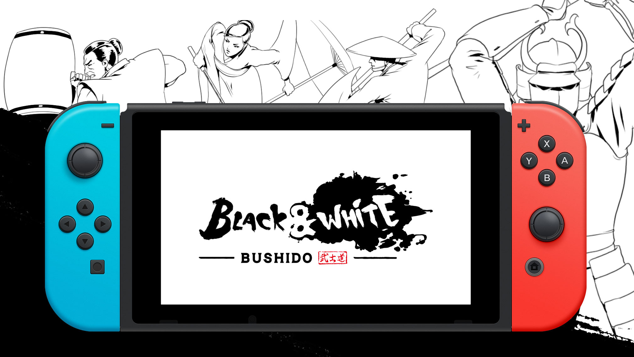Black and White Bushido - Out Now on Nintendo Switch